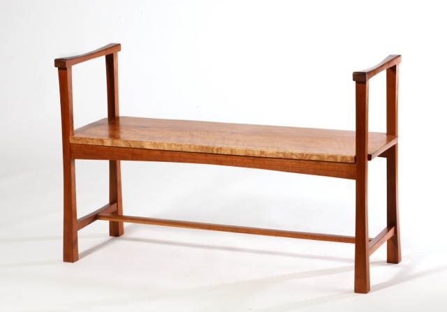 bench in cherry- 48'30'x15'